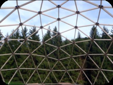 Geodätische Kuppel was ist ein dome