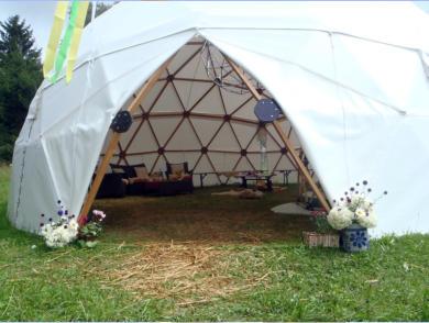Geodätischen Kuppel was ist ein dome
